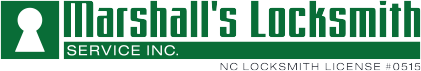 Marshall's Locksmith Retina Logo