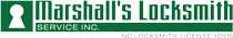 Marshall's Locksmith Mobile Logo